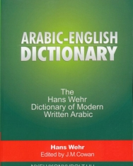 Arabic - English Dictionary - The Hans Wehr Dictionary of Modern Written Arabic