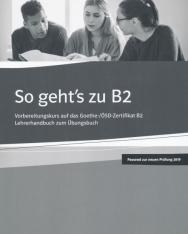 So geht's zu B2 Lehrerhandbuch zum Übungsbuch