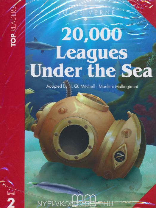 20,000 Leagues Under the Sea with Audio CD - MM Top Readers Level 2