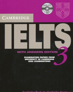Cambridge IELTS 3 Official Examination Past Papers Student's Book with Answers and 2 Audio CDs Self-Study Pack