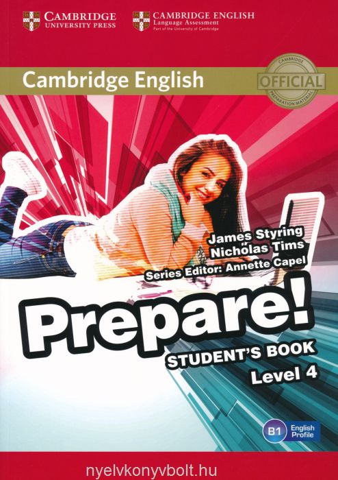 Cambridge English Prepare! Students Book Level 4