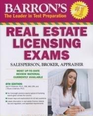 Barron's Real Estate Licencing Exams-Salesperson, Broker