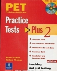 PET Practice Tests Plus 2 with Key,  Audio CDs and iTest CD-ROM