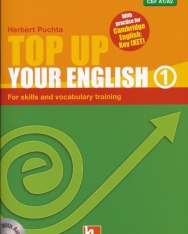 Top Up Your English 1 - For Skills and Vocabulary Training - with Audio CD