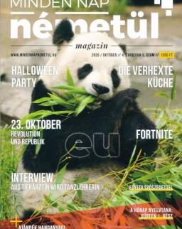 MindenNap Németül magazin 2020. október