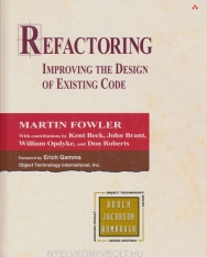 Martin Fowler: Refactoring - Improving the Design of Existing Code