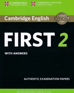 Cambridge English First 2 Student's Book with Answers: Authentic Examination Papers