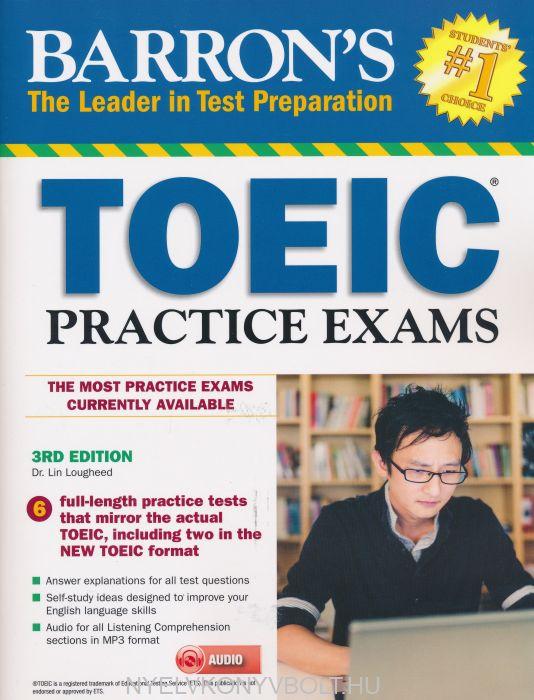 Barron's Toeic Practice Exams with MP3 CD - 3rd Edition