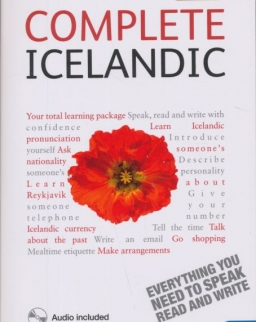 Teach Yourself - Complete Icelandic from Beginner to Level 4 Book & Double CD Pack