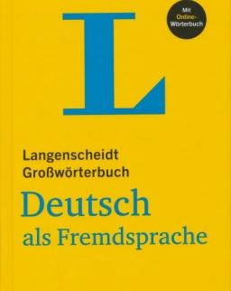 Langenscheidt Großwörterbuch Deutsch als Fremdsprache mit Online-Wörterbuch (Gebundene Ausgabe)