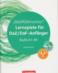 Wohlfühlmonitor: Lernspiele für DaZ/DaF-Anfänger (Stufe A1-B1) - Kopiervorlagen