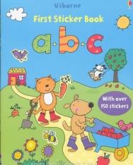 ABC (Usborne Sticker Books)