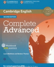 Complete Advanced Second edition Workook with answers with Audio CD