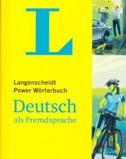Langenscheidt Power Wörterbuch Deutsch als Fremdsprache: Deutsch-Deutsch: German-German