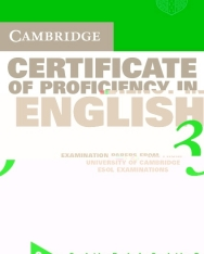 Cambridge Certificate of Proficiency in English 3 Official Examination Past Papers Audio Cassettes (2)
