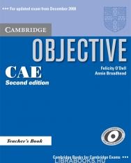 Objective CAE Teacher's Book 2nd Edition