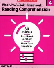 Week-By-Week Homeweork: Reading Comprenhension Grade 4