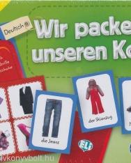 Wir packen unseren Koffer - Deutsch spielend lernen (Társasjáték)
