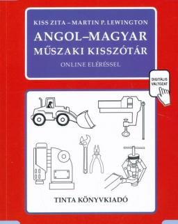 Angol - magyar műszaki kisszótár online eléréssel