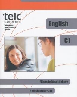 TELC English C1 Vizsgafelkészítő könyv (4 teljes feladatsor + 2 Cd)