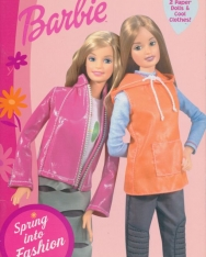Barbie - Spring into Fashion - 2 Paper Dolls & Cool Clothes