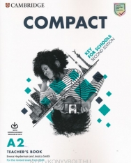 Compact A2 Key for Schools Teacher's Book with Downloadable Resource Pack - For the Revised Exam 2020
