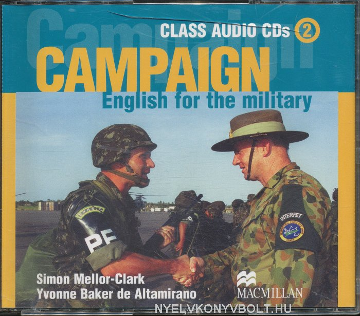Campaign - English for the Military 2 Class Audio CD