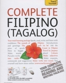 Teach Yourself - Complete Filipino (Tagalog) from Beginner to Level 4 Book & Double CD Pack