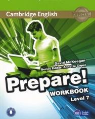 Cambridge English Prepare! Workbook Level 7 with Downloadable audio