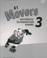 Cambridge English Movers 3 Answer Booklet for Revised exam from 2018