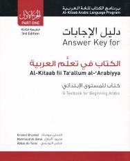 Al-Kitaab fii Ta'allum al-'Arabiyya Part 1 Answer Key - 3rd Edition