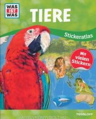WAS IST WAS Stickeratlas Tiere
