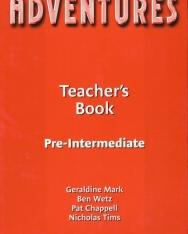 Adventures Pre-Intermediate Teacher's Book