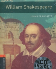 William Shakespeare with Audio CD - Oxford Bookworms Library Level 2