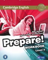 Cambridge English Prepare! Workbook Level 4 with Downloadable audio