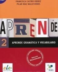 Aprende Gramática y Vocabulario 2 - Incluye solucionario