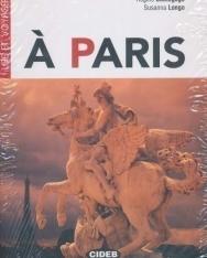 Á Paris avec CD Audio - Black Cat Lire et Voyager