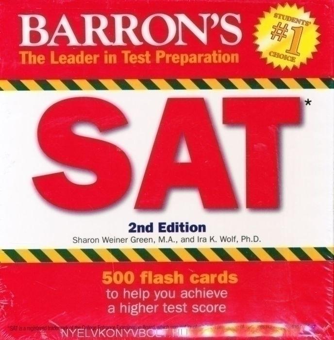 Barron's SAT Flash Cards 2nd Edition