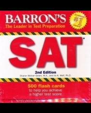 Barron's SAT Flash Cards 2nd Edition