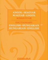 Angol-magyar, magyar-angol kisszótár 2018
