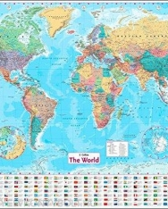 Collins World Wall Paper Map (New edition)