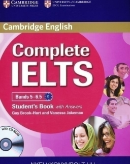 Complete IELTS Bands 5-6.5 Student's Book with Answers & CD-ROM