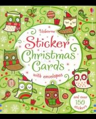 Sticker Christmas Cards (Usborne Sticker Cards)