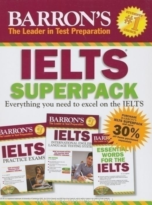 Barron's IELTS Superpack 2nd Edition