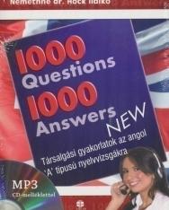 1000 Questions & Answers - 1000 kérdés és válasz angolul MP3 CD-melléklettel
