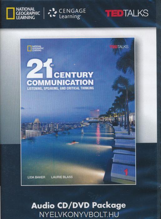 21st Century Communication 1 Audio CD/DVD Package