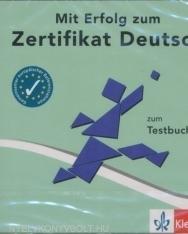 Mit Erfolg zum Zertifikat Deutsch Testbuch CD