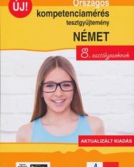 Országos kompetenciamérés tesztgyűjtemény német nyelv 8. osztályosoknak - Aktualizált kiadás