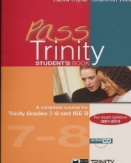 Pass Trinity 7-8 Student's Book with Audio CD