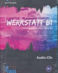 Werkstatt B1 - 5 Audio-CDs: Training zur Prüfung Zertifikat B1